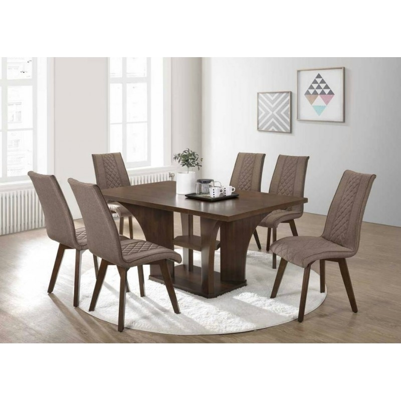6 Seater Dining Set (View 10 of 20)