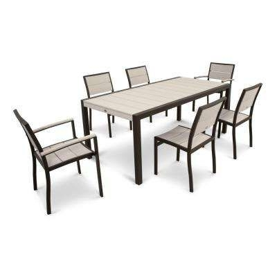 7 Best Patio Images On Pinterest Pertaining To Favorite Lassen 7 Piece Extension Rectangle Dining Sets (Gallery 7 of 20)