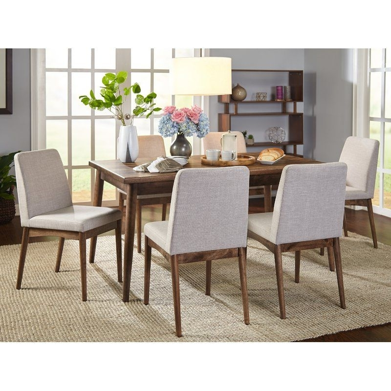 7 Piece Within 2018 Delfina 7 Piece Dining Sets (View 2 of 20)