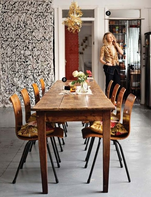 [%70+ Adorable Farmhouse Dining Room Ideas [simply And Timeless Regarding Trendy Long Dining Tables|long Dining Tables Regarding Recent 70+ Adorable Farmhouse Dining Room Ideas [simply And Timeless|2018 Long Dining Tables Inside 70+ Adorable Farmhouse Dining Room Ideas [simply And Timeless|2018 70+ Adorable Farmhouse Dining Room Ideas [simply And Timeless Pertaining To Long Dining Tables%] (View 18 of 20)