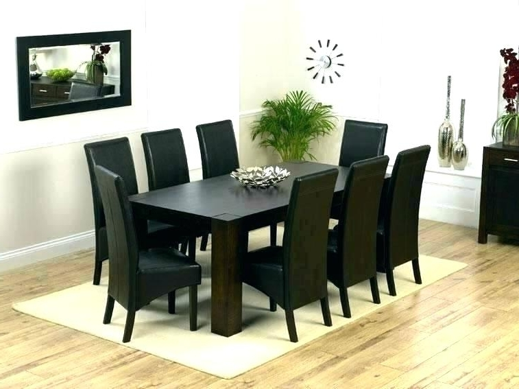 8 Chairs Dining Sets Inside Most Up To Date Round Formal Dining Table For 8 Formal Dining Room Sets For 8 Formal (Gallery 12 of 20)