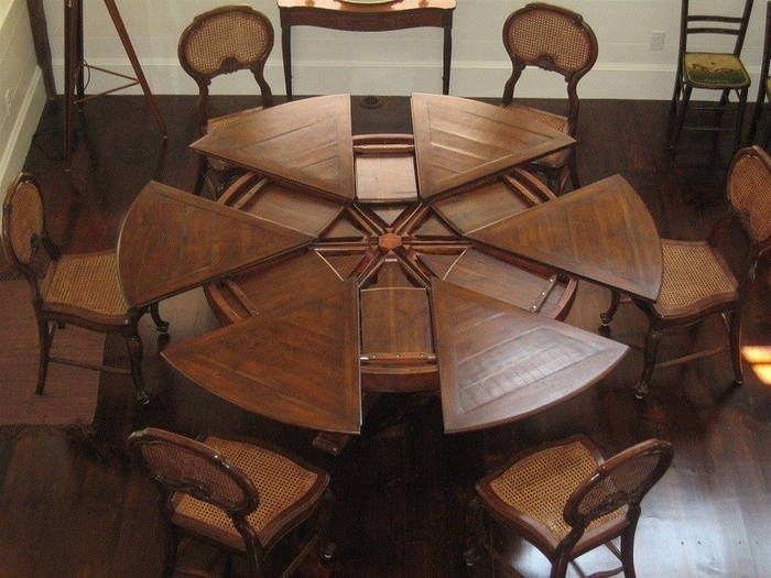 8. Dining Tables Large Round Dining Table Large Round Dining Table With Most Recently Released Huge Round Dining Tables (Gallery 5 of 20)
