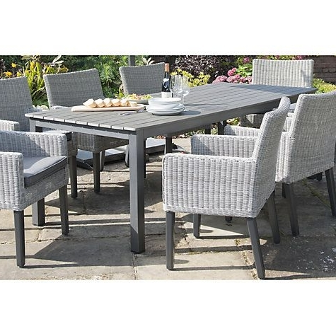 8 Seat Outdoor Dining Tables Within Latest Buy Kettler Bretagne 8 Seater Outdoor Dining Table Online At (Gallery 15 of 20)