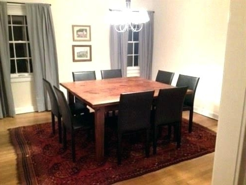 8 Seat Square Dining Table Tables Creative Of Seats Nice Room White In Well Liked Dining Tables Seats (View 14 of 20)