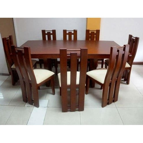 8 Seater Black Dining Tables Within 2018 8 Seater Dining Table Set, Dining Table Set – Kamal Furniture (Gallery 2 of 20)