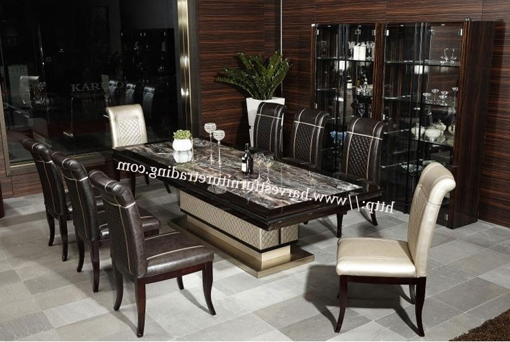 8 Seater Dining Table Inside Trendy 8 Seater Dining Tables (Gallery 16 of 20)