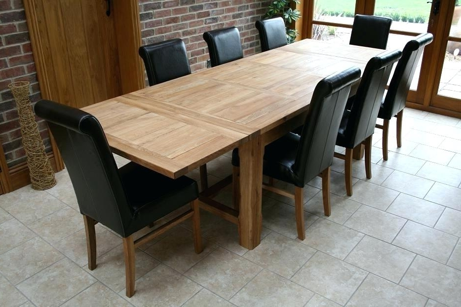 8 Seater Dining Table Room Chair Person Set Expandable Kitchen Size With Regard To Fashionable Cheap 8 Seater Dining Tables (Gallery 7 of 20)