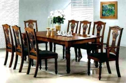 8 Seater Dining Table Sets Regarding Well Known 8 Seater Dining Table Sets (Gallery 19 of 20)