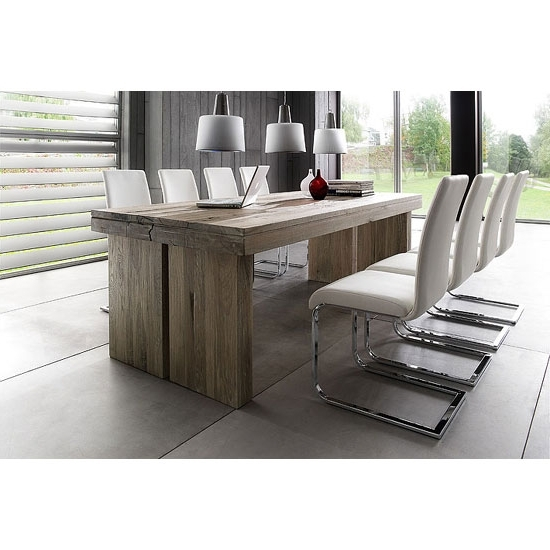 8 Seater Dining Tables Within Most Recent Dublin 8 Seater Dining Table In 220Cm With Lotte Dining (Gallery 9 of 20)