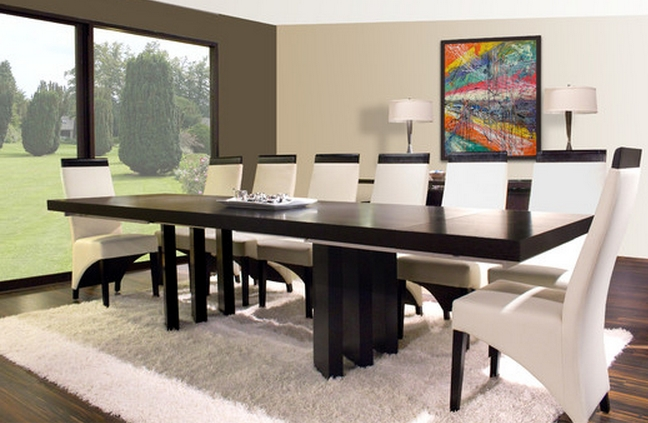 9 Piece Dining Sets For A Modern Dining Room – Cute Furniture Regarding Most Popular Modern Dining Sets (View 3 of 20)