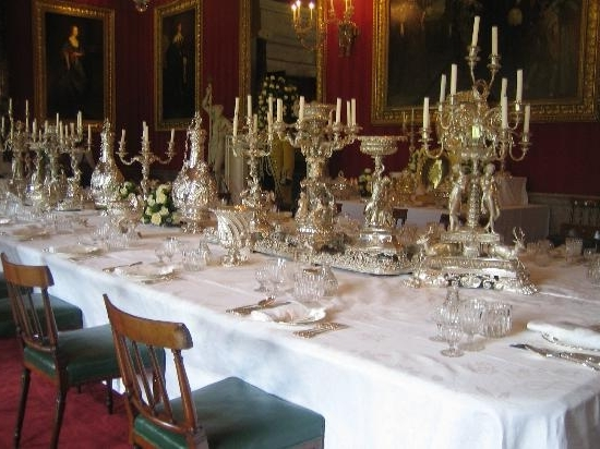 A Dining Table – Picture Of Chatsworth House, Bakewell – Tripadvisor For Widely Used Chatsworth Dining Tables (View 2 of 20)