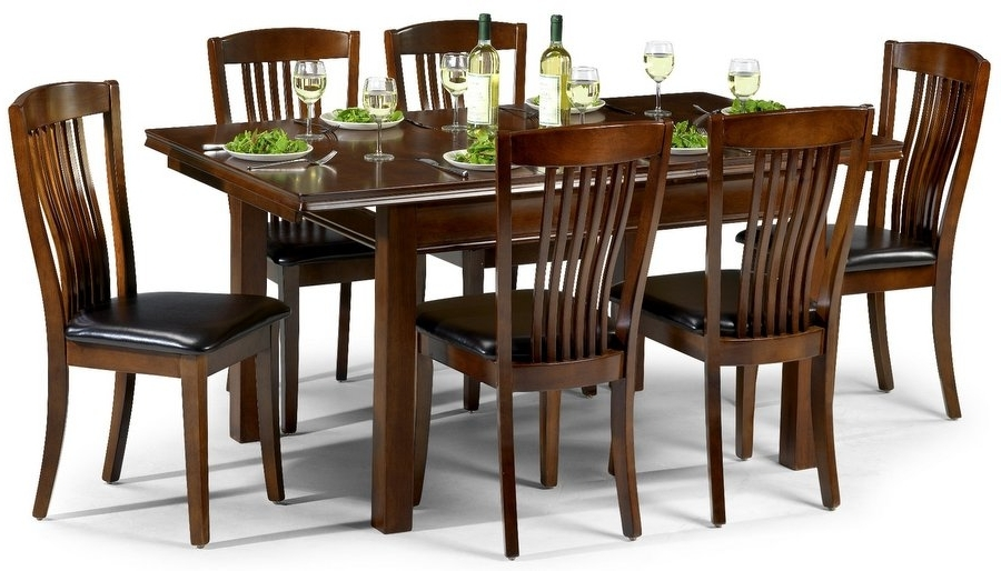Abdabs Furniture – Canterbury Mahogany Dining Table & Six Chairs With Regard To Trendy Dining Tables And Six Chairs (Gallery 1 of 20)