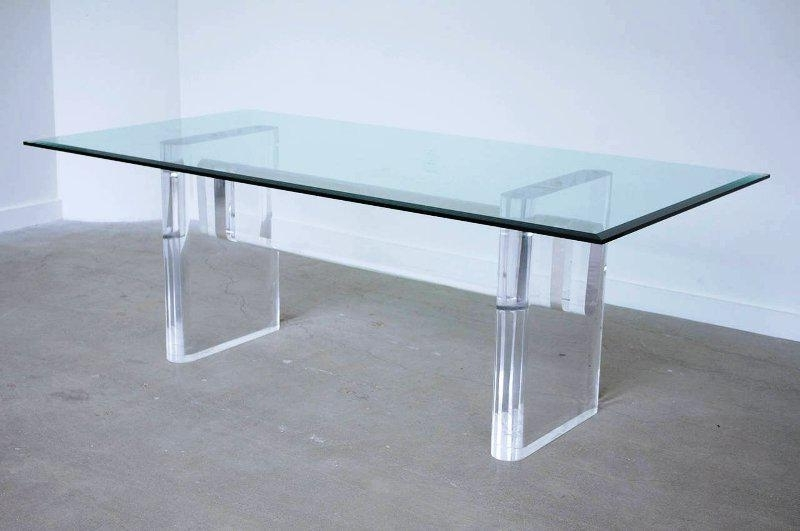Acrylic Dining Tables In Most Recently Released Glass Acrylic Dining Table — Jayne Atkinson Homesjayne Atkinson Homes (Gallery 10 of 20)