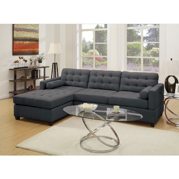 Adeline 3 Piece Sectionals Regarding Most Popular Shop Alpine 2 Pcs Sectional Sofa Set – Free Shipping Today (View 14 of 15)