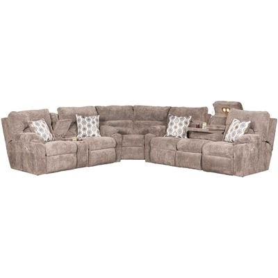 Afw In Preferred Jackson 6 Piece Power Reclining Sectionals With  Sleeper (View 2 of 15)
