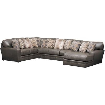 Afw With Most Popular Denali Light Grey 6 Piece Reclining Sectionals With 2 Power Headrests (View 7 of 15)