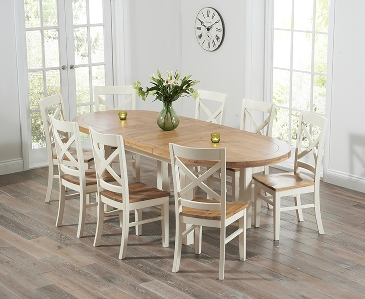 Featured Photo of Oval Extending Dining Tables And Chairs