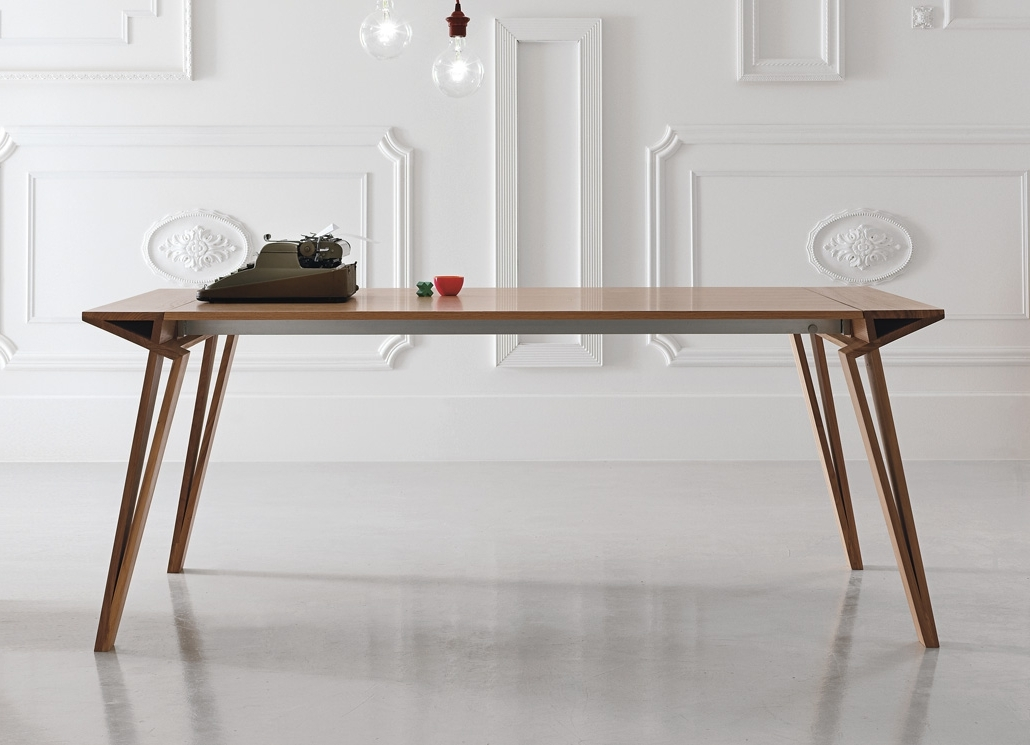 Alivar Oblique Extending Dining Table – Alivar Furniture At Go Inside Widely Used Dining Tables London (View 5 of 20)