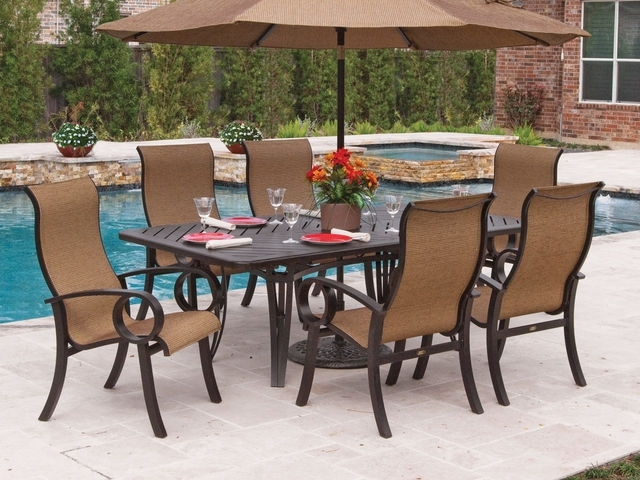 Aluminum – Chair King Inside Latest Market 7 Piece Dining Sets With Side Chairs (View 1 of 20)