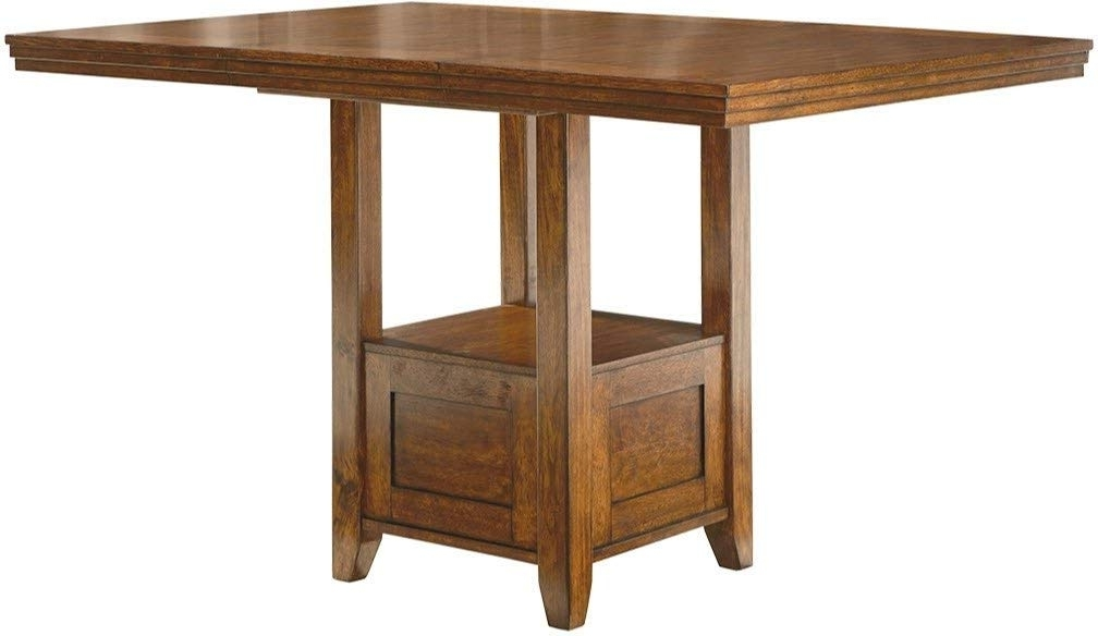 Amazon – Ashley Furniture Signature Design – Ralene Counter Within Most Popular Combs 48 Inch Extension Dining Tables (View 8 of 20)