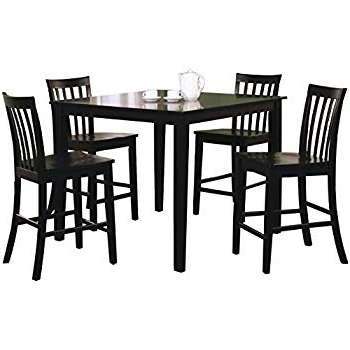 Amazon – Ashley Hyland D258 223 5 Piece Dining Room Set With 1 For Well Liked Hyland 5 Piece Counter Sets With Bench (Gallery 13 of 20)