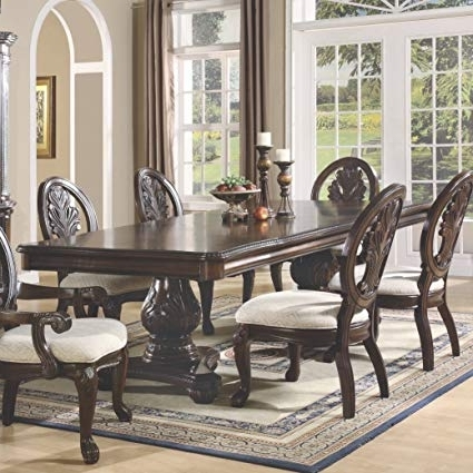 Amazon – Coaster Home Furnishings 101037 Traditional Dining Inside 2017 Traditional Dining Tables (Gallery 13 of 20)