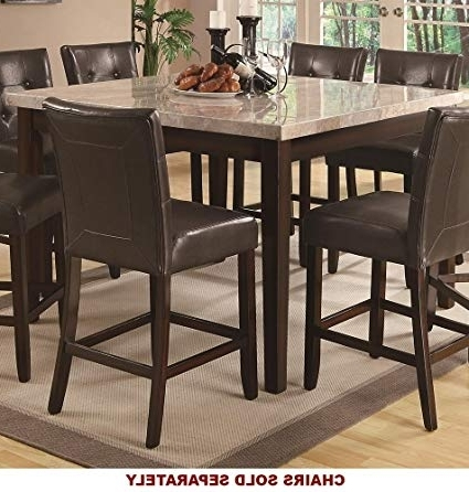 Amazon – Coaster Home Furnishings Milton Modern Transitional Pertaining To Most Current Milton Dining Tables (View 9 of 20)