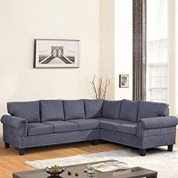 Amazon: Harper & Bright Designs 3 Piece Sectional Sofa Within Well Liked Harper Down 3 Piece Sectionals (View 8 of 15)