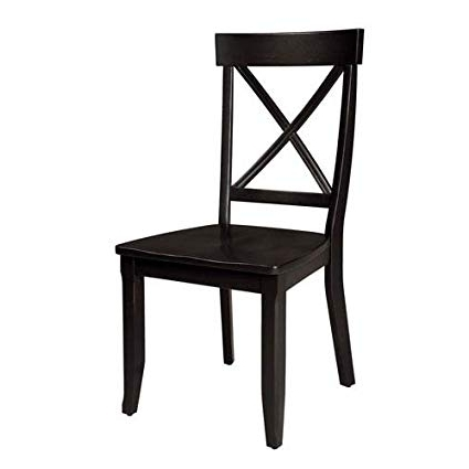 Amazon: Home Styles 5178 802 Dining Chairs, Black Finish, Set Of Regarding Widely Used Black Dining Chairs (View 5 of 20)