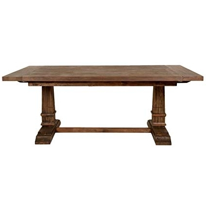 Amazon – Hudson Extension Dining Table, Rustic Java – Tables Inside Best And Newest Java Dining Tables (Gallery 9 of 20)
