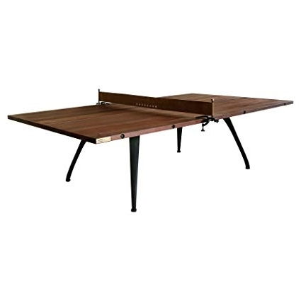 Amazon: Kathy Kuo Home Palazzo Industrial Loft Wood Metal Ping In Most Recent Palazzo Rectangle Dining Tables (Gallery 3 of 20)