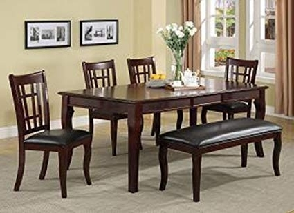Amazon – Milton Greens Stars 8838Ch Granada Dining Table, 78 Regarding Most Current Milton Dining Tables (View 2 of 20)