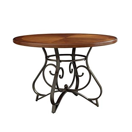 Amazon – Powell Hamilton Dining Table – Tables Within Most Recently Released Hamilton Dining Tables (Gallery 5 of 20)