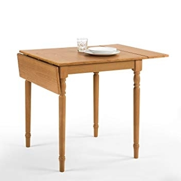 Amazon – Zinus Provence Drop Leaf Wood Dining Table / Turned Throughout Most Recent Provence Dining Tables (View 14 of 20)