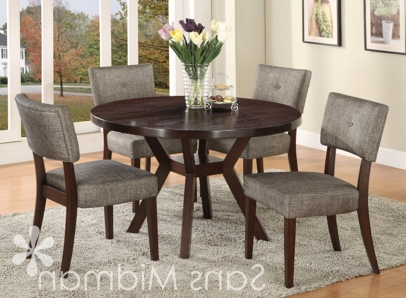Amelia Gray Dining Set – Yelp With Best And Newest Macie 5 Piece Round Dining Sets (Gallery 4 of 20)