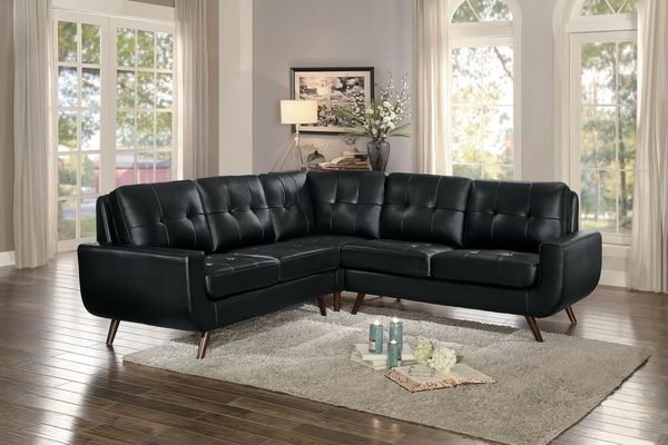 American Eagle Furniture Ek Lb309 Dc Dark Chocolate Sofa C Regarding 2018 Tenny Dark Grey 2 Piece Right Facing Chaise Sectionals With 2 Headrest (Gallery 12 of 15)