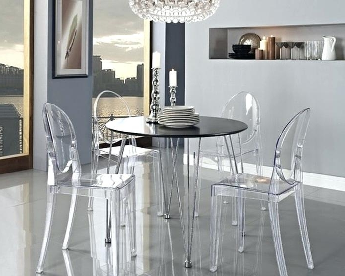 Amusing Acrylic Dining Room Chairs Table And Uk With Clear Kitchen Throughout Recent Acrylic Dining Tables (Gallery 18 of 20)