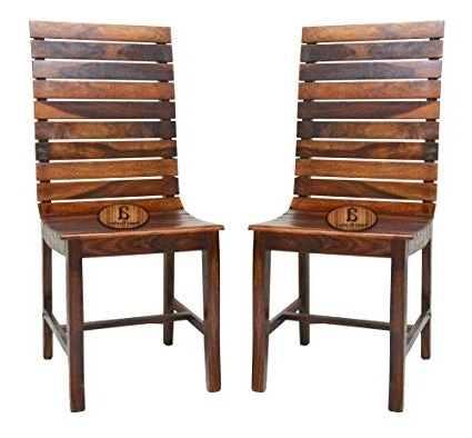 Angel Furniture Frazer Stripped Sheesham Rosewood Dining Chair In With Most Up To Date Sheesham Wood Dining Chairs (View 3 of 20)