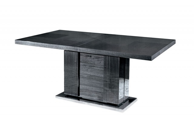 Antibes – 160Cm Extendable Table With 1 Leaf – Fishpools Pertaining To Favorite Black Extending Dining Tables (Gallery 12 of 20)