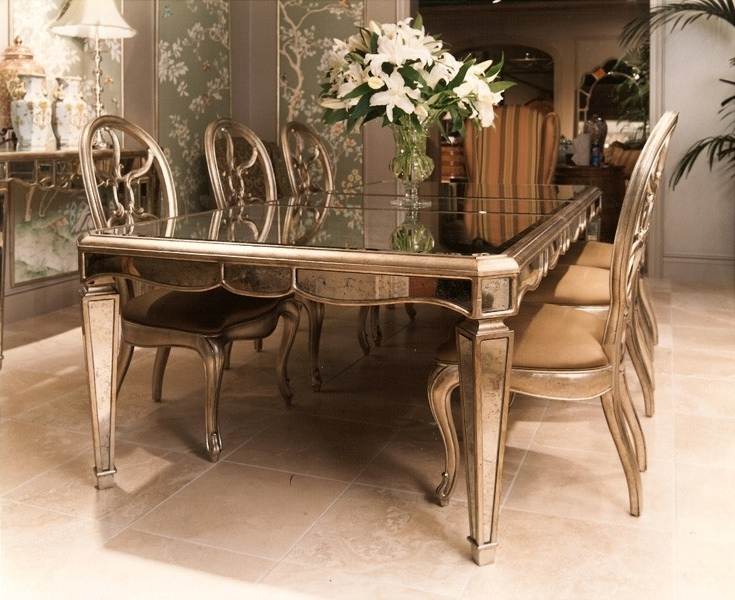 Antique Mirror Dining Tables With Regard To 2017 Antique Mirrors (View 2 of 20)