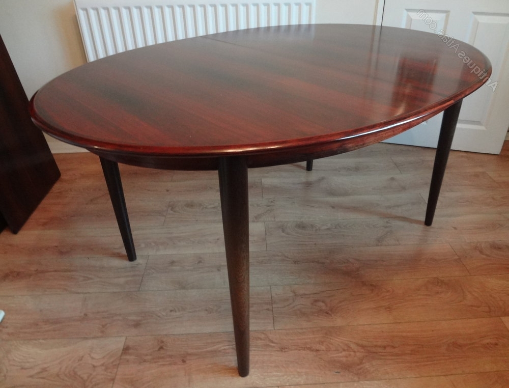 Antiques Atlas – Danish Rosewood Dining Table With Well Liked Danish Dining Tables (Gallery 13 of 20)
