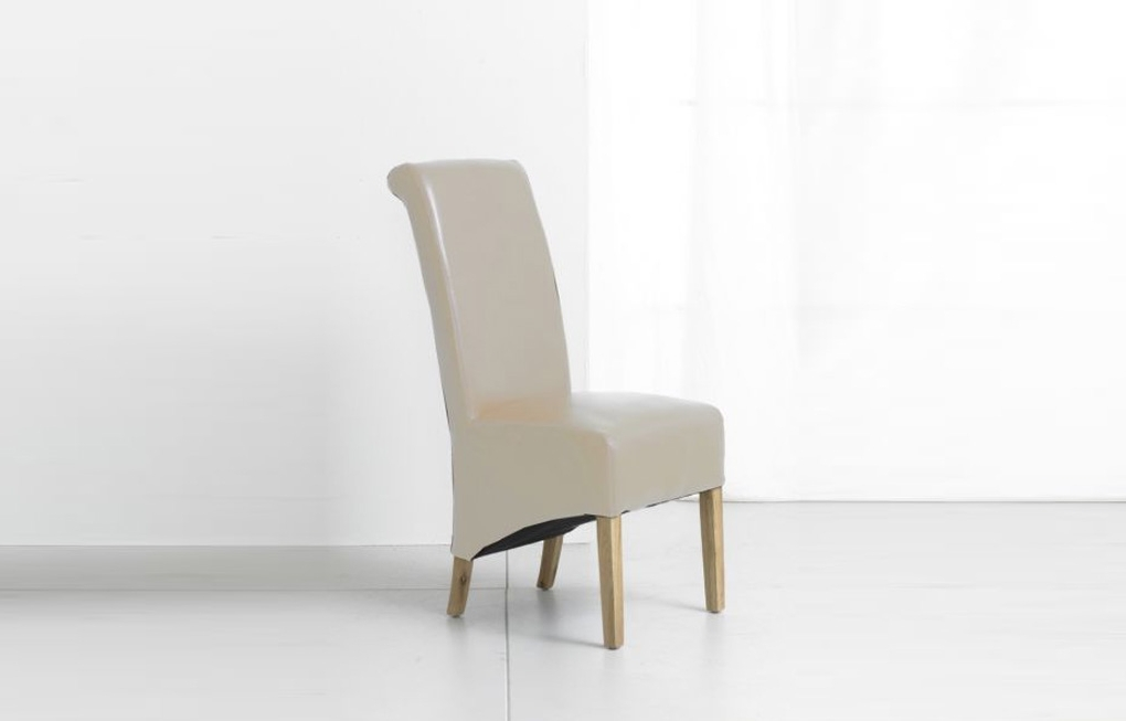 Arika Bespoke Furnishing Throughout Well Liked Oak Leather Dining Chairs (Gallery 9 of 20)