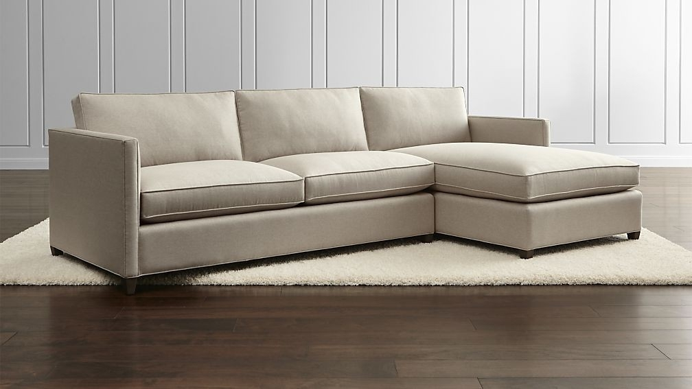 Arrowmask 2 Piece Sectionals With Laf Chaise Intended For Popular 2 Piece Sectional Arrowmask W Laf Chaise Living Spaces 223426 Grey (View 2 of 15)