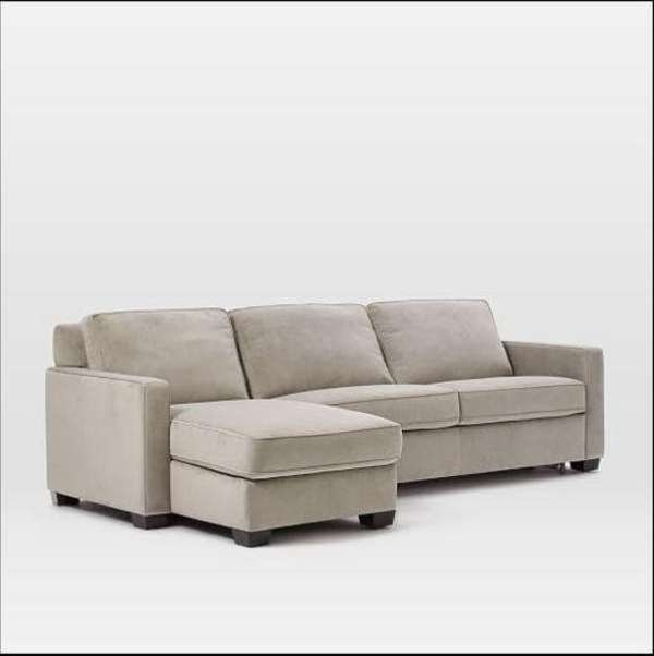 Arrowmask 2 Piece Sectionals With Sleeper & Right Facing Chaise With Popular Sectional With Sleeper (View 6 of 15)