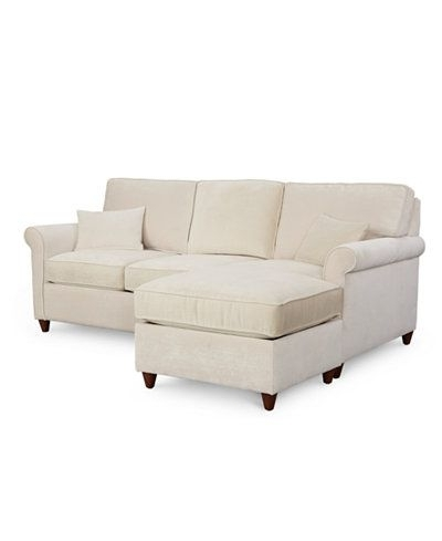 Arrowmask 2 Piece Sectionals With Sleeper & Right Facing Chaise Within 2017 Lidia 82 Fabric 2 Pc (View 7 of 15)