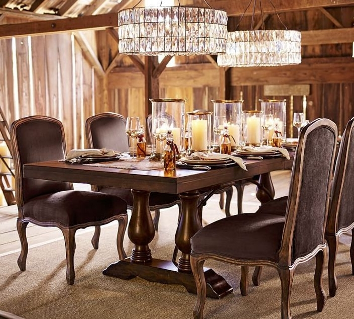 Artisanal Dining Tables In Fashionable Dining Room Table Displays – Cheekybeaglestudios (View 5 of 20)