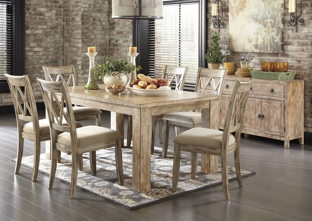 Ashley Furniture Homestore – Independently Owned And Operated Intended For Latest Rectangular Dining Tables Sets (Gallery 5 of 20)