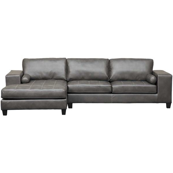 Ashley Intended For Cosmos Grey 2 Piece Sectionals With Laf Chaise (View 9 of 15)