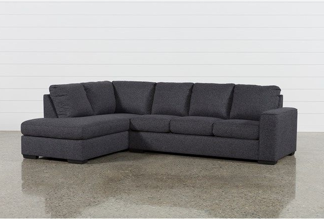 Aspen 2 Piece Sleeper Sectionals With Laf Chaise Within Best And Newest Lucy Dark Grey 2 Piece Sectional W/raf Chaise (View 7 of 15)