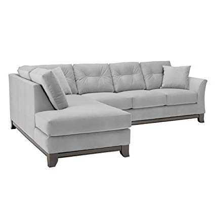 Aspen 2 Piece Sleeper Sectionals With Raf Chaise Regarding 2017 Amazon: Apt2B Marco 2 Piece Sectional Sofa, Stone, Raf – Chaise (View 3 of 15)